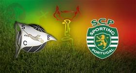 SC Espinho x Sporting - Taça de Portugal (Direto)