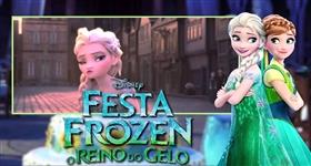 Festa Frozen: O Reino Do Gelo