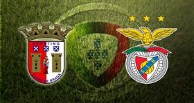 SP. Braga x Benfica - Primeira Liga (Direto)