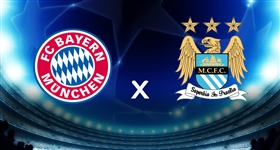 B. Munique x Man. City - Liga dos Campeões (Direto)