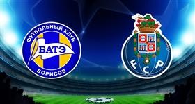 Bate Borisov x FC Porto - Liga dos Campeões (Direto)