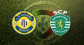 Nacional x Sporting - Primeira Liga (Direto)
