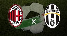 AC Milan x Juventus - Liga Italiana (Direto)