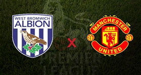 West Bromwich x Man. United - Premier League (Direto)