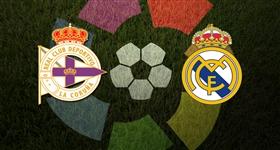 Dep. Corunha x Real Madrid - Liga Espanhola (Direto)