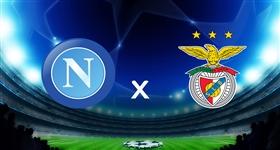 Nápoles x Benfica - Liga dos Campeões (Direto)