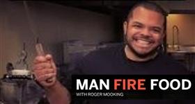 Man Fire Food T3