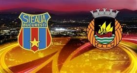 Steaua Bucareste x Rio Ave - Liga Europa (Direto)