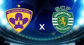 Maribor x Sporting - Liga dos Campeões (Direto)