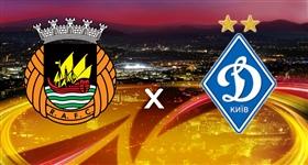 Rio Ave x Dinamo Kiev - Liga Europa (Direto)