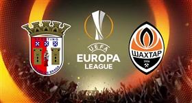 Braga x Shakthar Donetsk - Liga Europa (Direto)