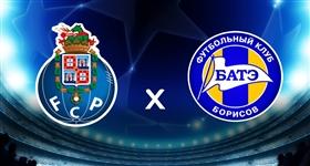 FC Porto x Bate Borisov - Liga dos Campeões (Direto)