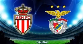 Mónaco x Benfica - Liga dos Campeões (Direto)