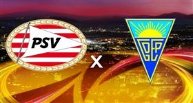 PSV x Estoril - Liga Europa (Direto)