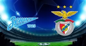 Zenit x Benfica - Liga dos Campeões (Direto)